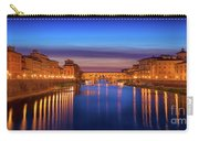 Ponte Vecchio Nigth Panorama Carry-all Pouch