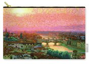 Ponte Vecchio Sunset Florence Carry-all Pouch
