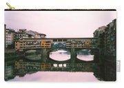Ponte Vecchio Sunset Photograph Carry-all Pouch