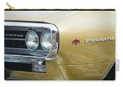 Pontiac Firebird Gold 1967 Carry-all Pouch