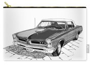 Pontiac Gto Convertible Carry-all Pouch