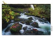 Ponytail Falls With Autumn Foliage Carry-all Pouch