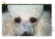 Poodle Art - Noodles Carry-all Pouch by Sharon Cummings
