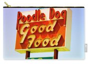 Poodle Dog Diner Carry-all Pouch