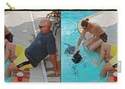 Poolside - Gently Cross Your Eyes And Focus On The Middle Image Carry-all Pouch