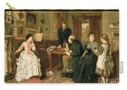 Poor Relations Carry-all Pouch by George Goodwin Kilburne