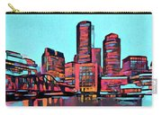 Pop Art Boston Skyline Carry-all Pouch