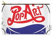 Pop Art Bottle Cap Carry-all Pouch by Gary Grayson