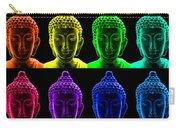 Pop Art Buddha  Carry-all Pouch by Fabrizio Troiani