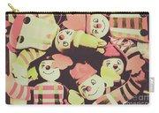 Pop Art Clown Circus Carry-all Pouch