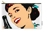 Pop Art Girl With Soda Bottle Carry-all Pouch