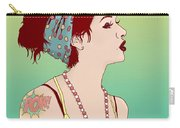 Pop Art Lady Carry-all Pouch