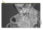 Popcorn Sutton Black And White Transparent - T-shirts Carry-all Pouch