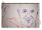 Pope Francis Waves Carry-all Pouch