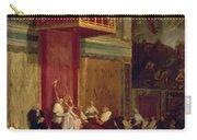 Pope Pius Vii Luigi Barnaba Chiaramonti Attending Chapel 1820 Carry-all Pouch