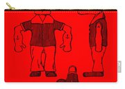 Popeye Doll Patent 1932 In Red Carry-all Pouch