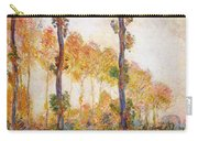 Poplars, Autumn Carry-all Pouch