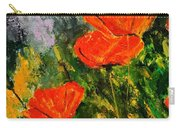 Poppies 107 Carry-all Pouch