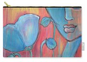 Poppies 7 Luna Let Me Go Carry-all Pouch