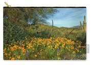 Poppies Abound Carry-all Pouch