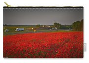 Poppies Along I-85 Carry-all Pouch