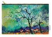 Poppies And Appletrees In Blossom Carry-all Pouch