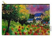 Poppies And Daisies 560110 Carry-all Pouch