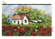 Poppies And Laundry Carry-all Pouch