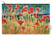Poppies And Traverses 2 Carry-all Pouch