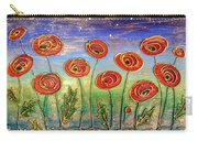 Poppies At Night Carry-all Pouch