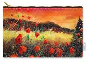 Poppies At Sunset 67 Carry-all Pouch