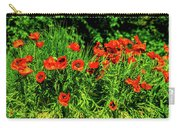 Poppies Flowerbed Carry-all Pouch