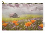 Poppies In A Dream Watercolor Painting Carry-all Pouch