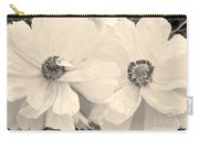 Poppies In Monochrome Carry-all Pouch