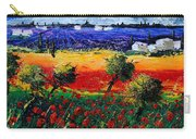 Poppies In Provence Carry-all Pouch