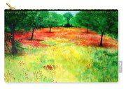 Poppies In The Almond Grove Carry-all Pouch