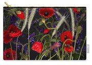 Poppies In The Corn Carry-all Pouch