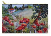 Poppies In The Field Carry-all Pouch