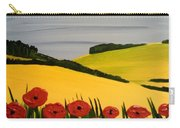 Poppies In The Hills Carry-all Pouch