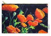 Poppies In The Light Carry-all Pouch