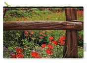 Poppies In The Texas Hill Country Carry-all Pouch