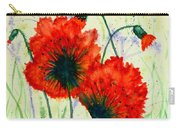 Poppies In The Wild Carry-all Pouch