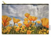 Poppies In The Wind Part Two  Carry-all Pouch