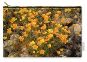 Poppies On The Rocks Carry-all Pouch