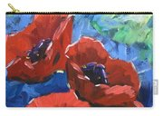 Poppies Splender Carry-all Pouch