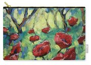 Poppies Through The Forest Carry-all Pouch
