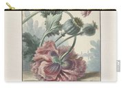 Poppies, Willem Van Leen, 1804 Carry-all Pouch