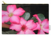 Poppin Pink Flowers Carry-all Pouch