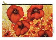 Poppin Poppies #2 Carry-all Pouch