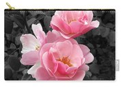 Popping Pink Roses Carry-all Pouch